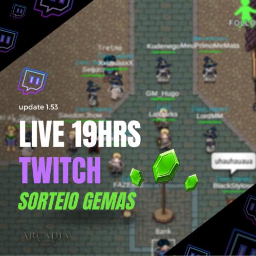 LIVE & EVENTOS DE HOJE | Jornada do Herói, do 1 ao 100! (continuação…)