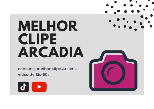 """Novo concurso """"Melhor Clipe Arcadia"""""""