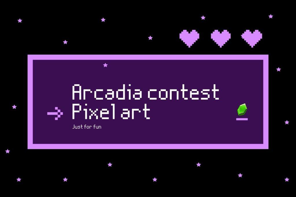 O atributo alt desta imagem está vazio. O nome do arquivo é Dark-Purple-Kindness-is-Cute-Retro-Pixel-Landscape-Rectangle-Laptop-Sticker-1024x682.jpg